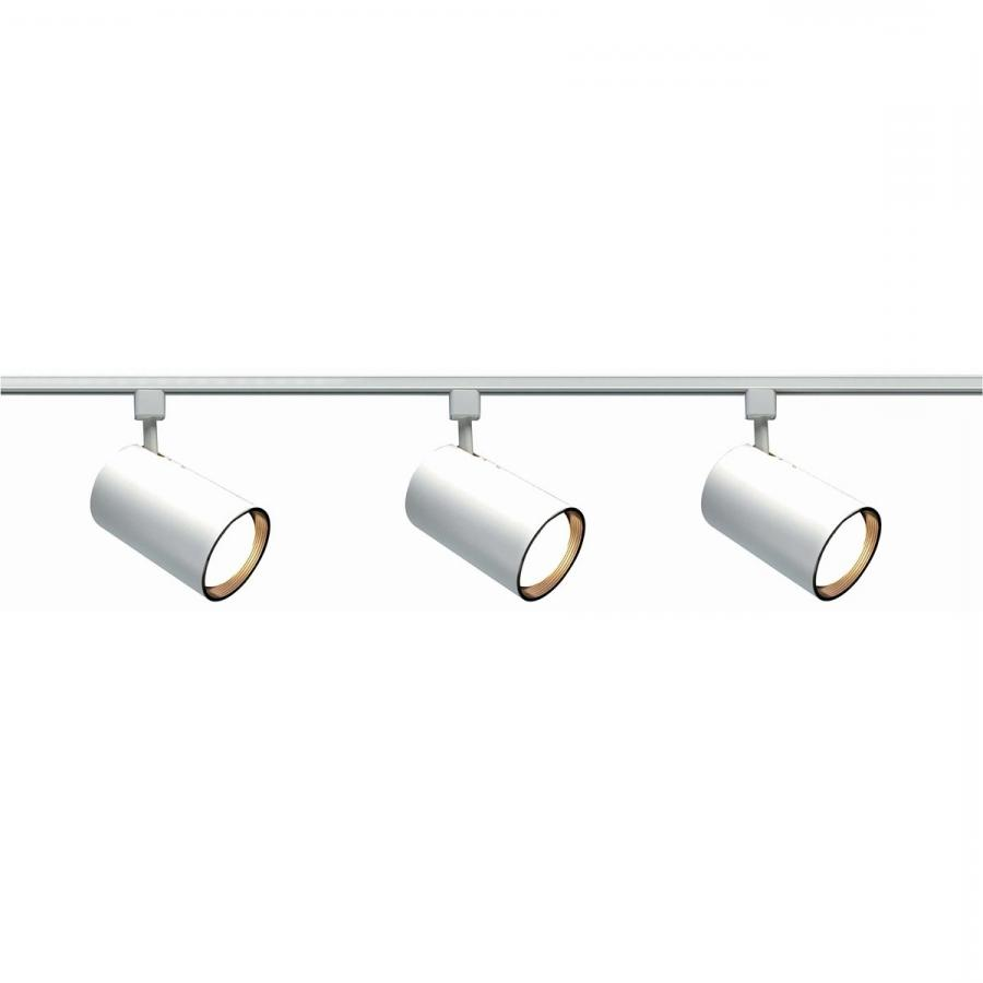 Nuvo Lighting TK3 3 Light Straight Cylinder Track Lighting Kit