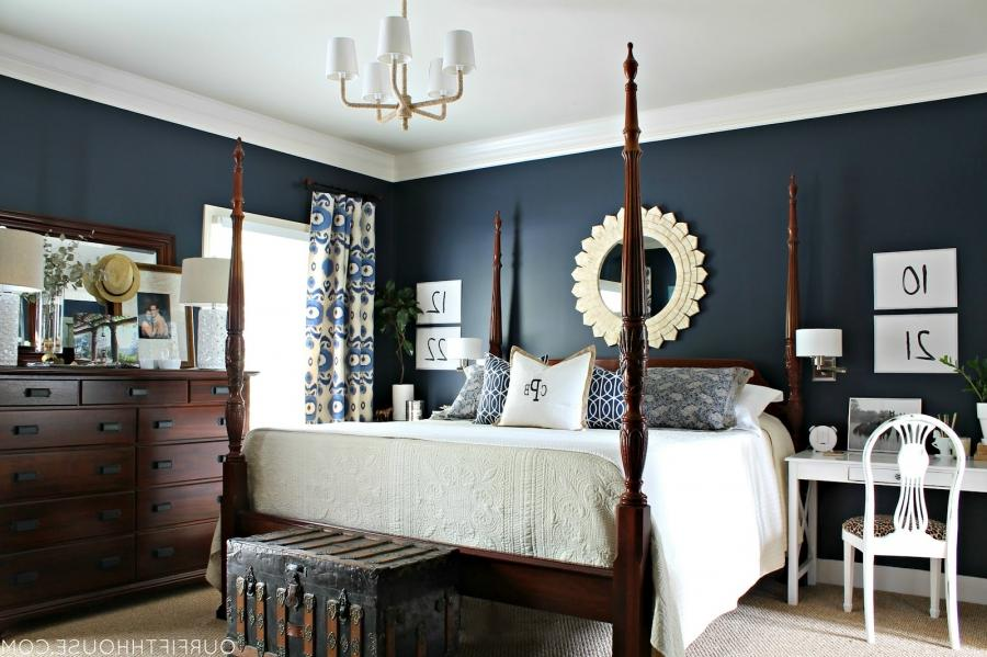 Blue Master Bedroom Photos
