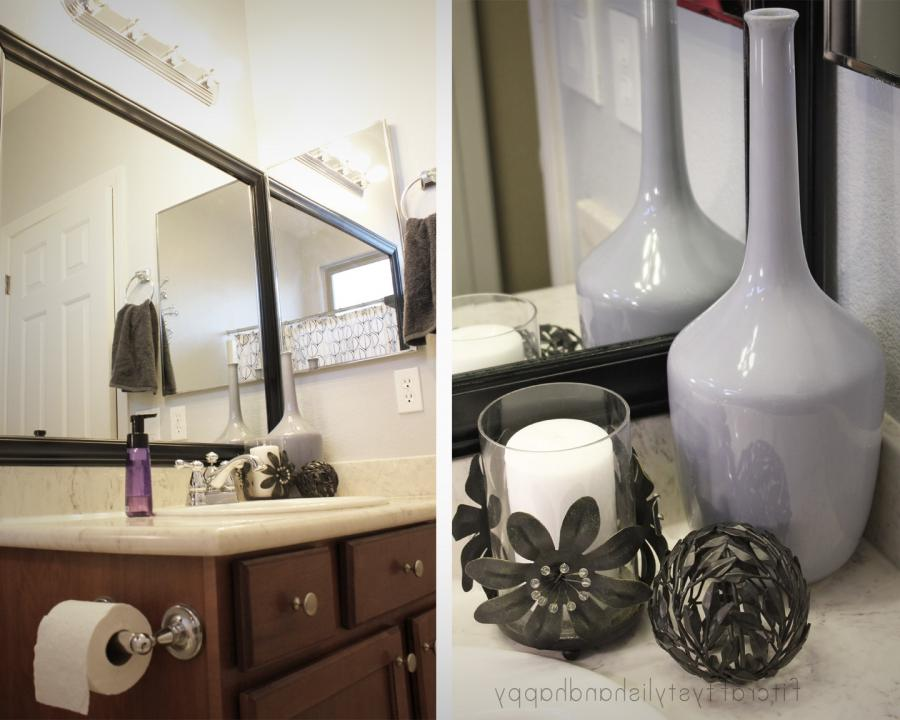 Amazing Black White And Grey Bathroom Decor listed in: open...