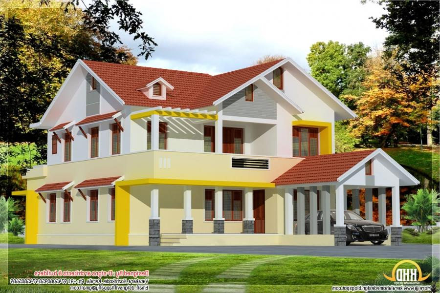 new model house in kerala photos