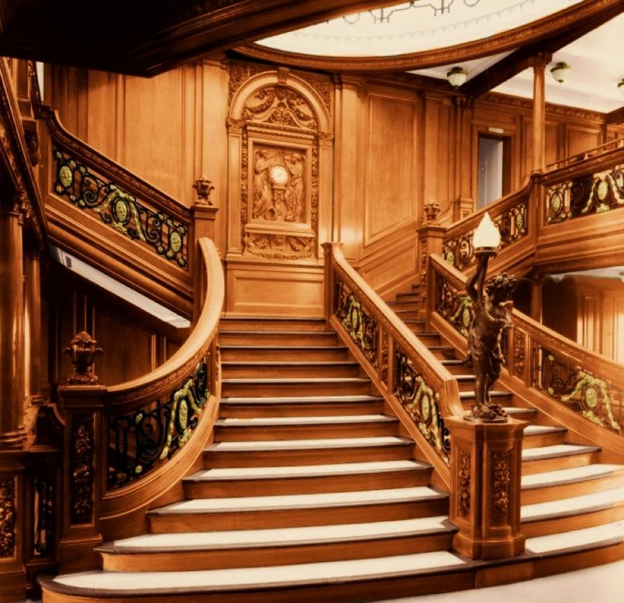 Photos Of The Interior Of The Titanic