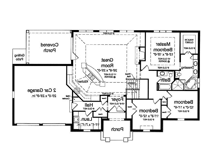 Open floor home plans photos for French country house plans open floor plan