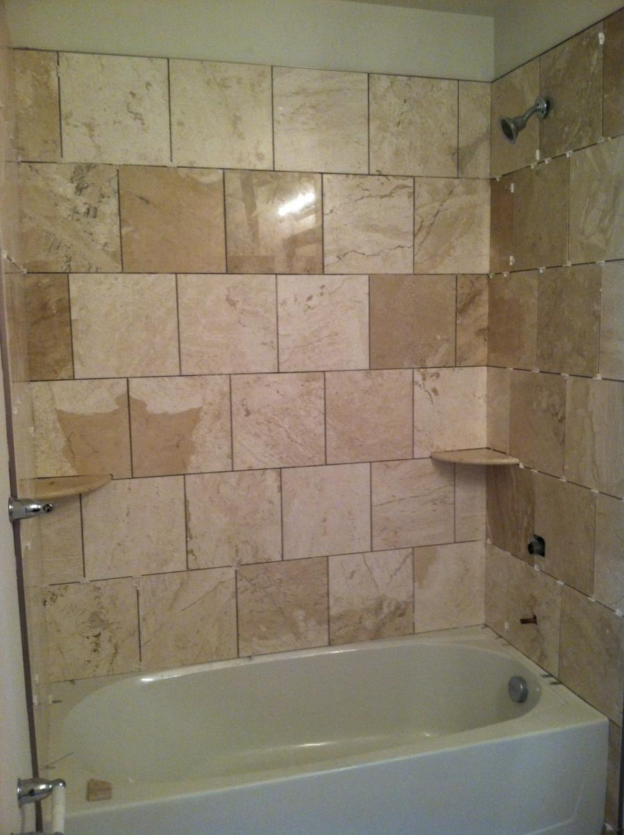 shower over tub bathroom designs html with Ceramic Tile Showers Photos on Lowes Free Standing Tub together with Ribera Grey Slate Effect Wall Tile as well Neutral Bathroom Tile Designs Ideas as well Leith Acrylic Freestanding Tub moreover 83d6ba6ef0b6e0ac.