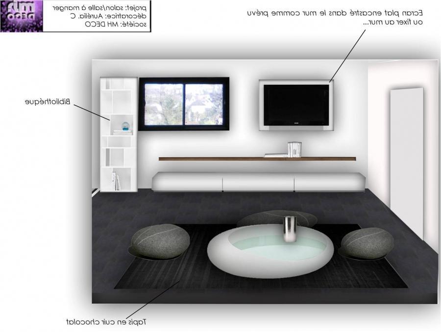 Photos decoration salon design - Deco lounge epure ...