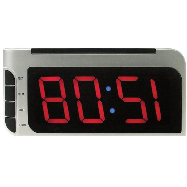 Elgin Electric Autoset Alarm Clock with Dimmer Control