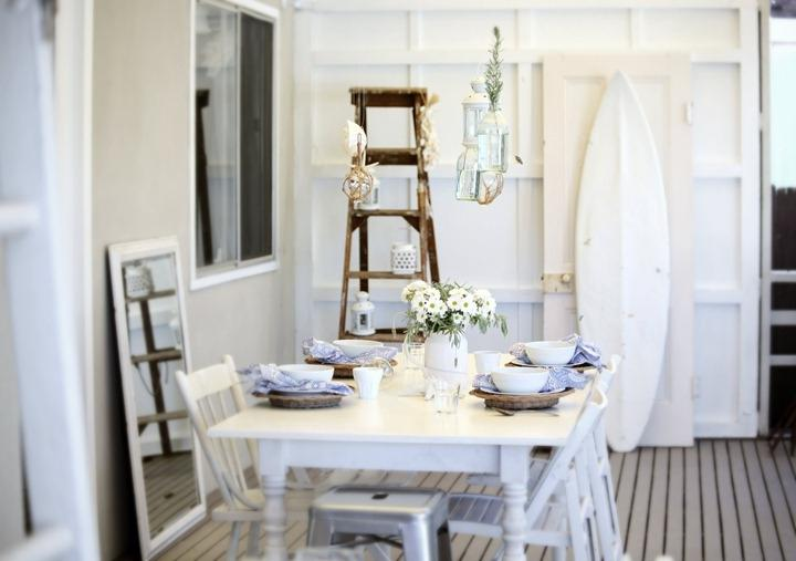 beach cottage decorating photos