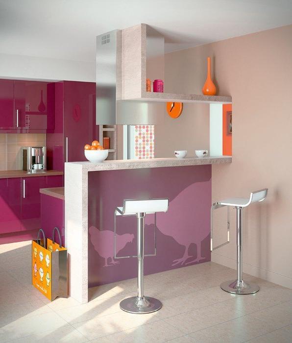 Photos decoration cuisine moderne for Cuisine moderne decoration
