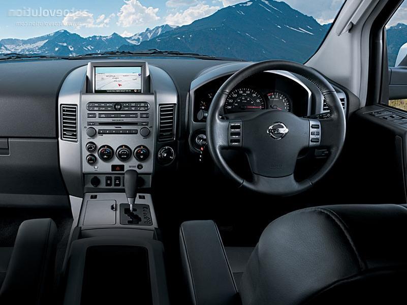2005 Nissan Armada Interior Photos