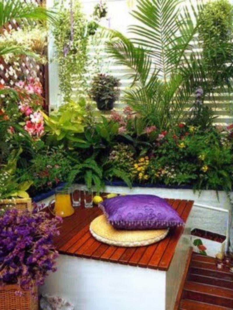 Balcony garden ideas and photos.