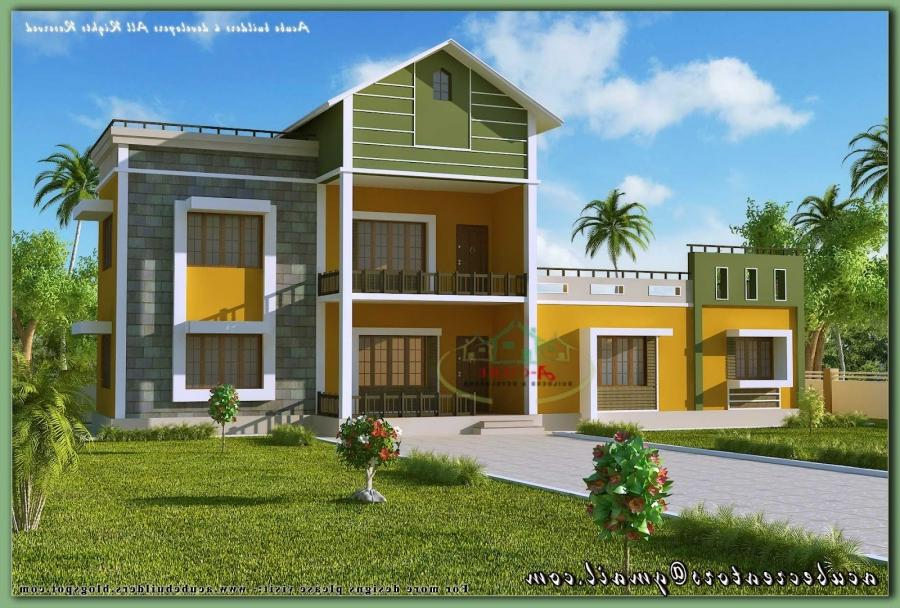 New model house in kerala photos for Kerala new model house