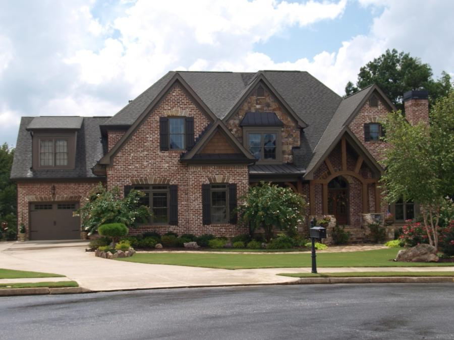 Home Styles Are Traditional And Range From Brick To Combinations
