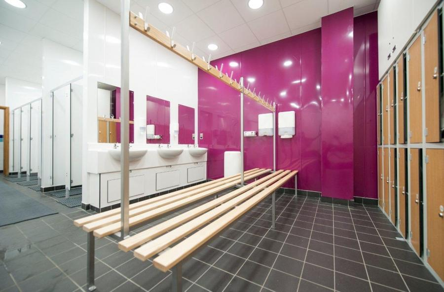 Girls Sports Hall Changing Room Video