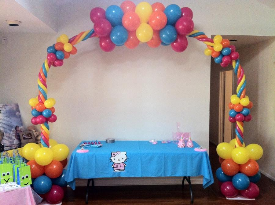 Photos balloon decoration for Balloon decoration courses