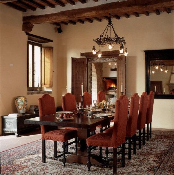 Photos Tuscan Dining Rooms