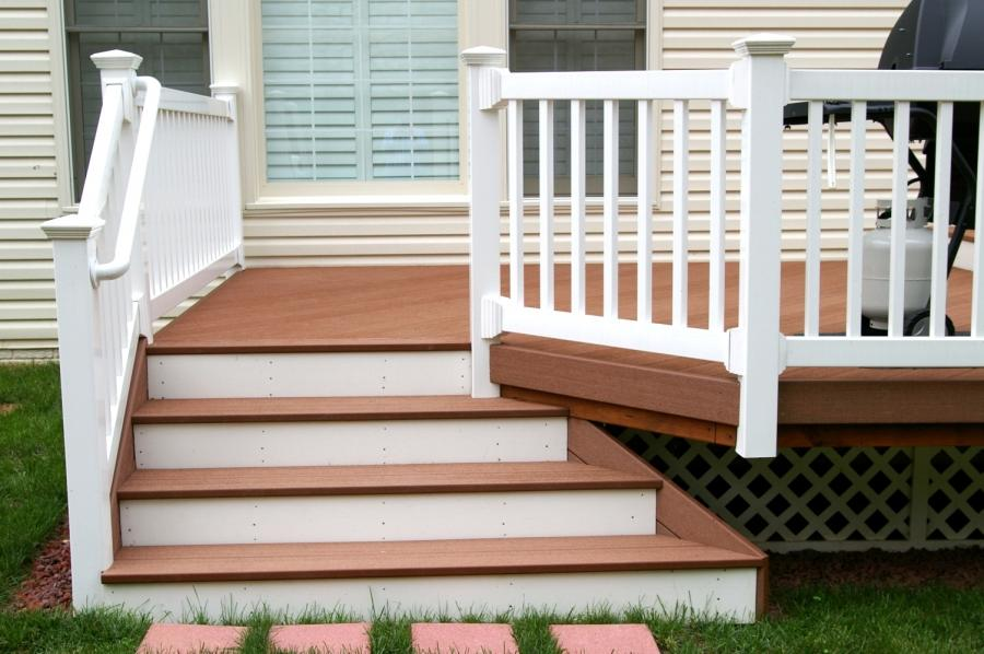 Front Porch, : Beautiful Ideas For Deck Front Porch Decoration...