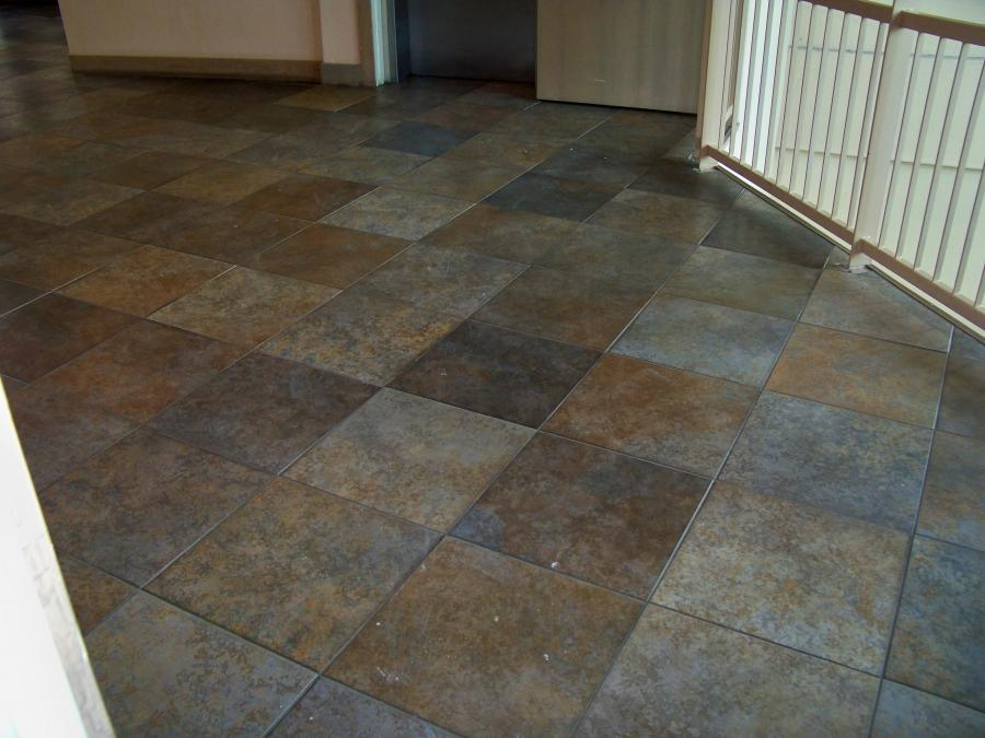 Stone And Tile Works : Granite tile flooring photos