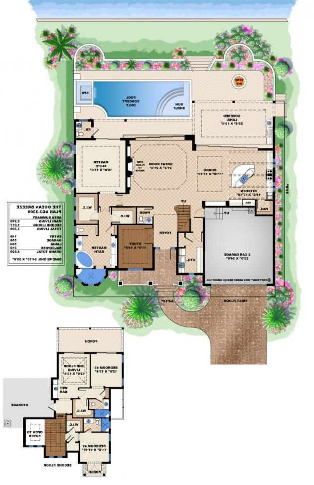 Waterfront house plans photos for Waterfront house plans