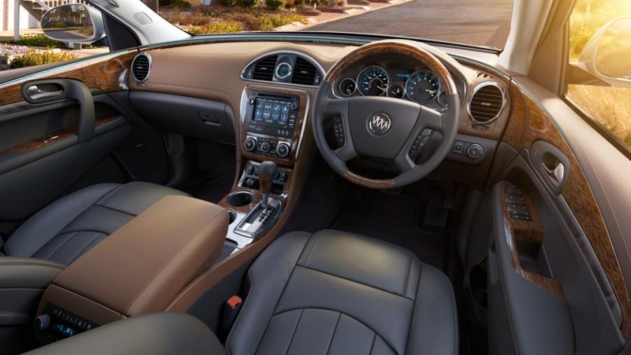 Enclave interior photos - Buick enclave choccachino interior ...