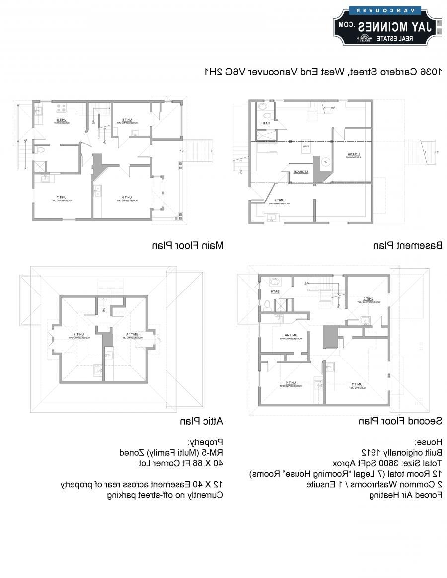 Vancouver House Plans Photos