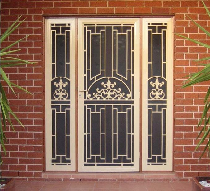 Safety Grill Doors Design Photos