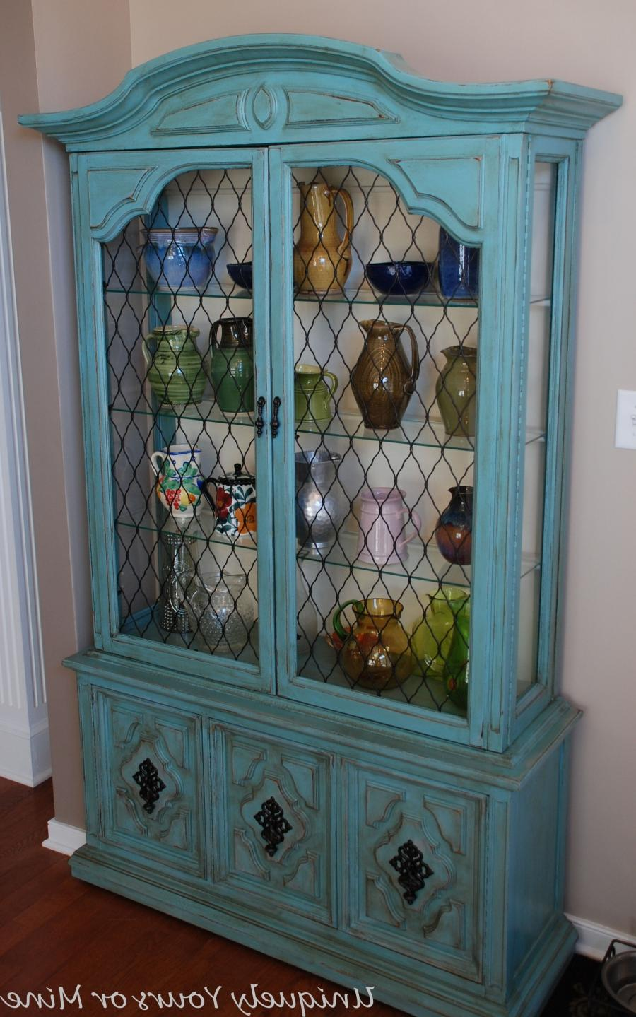 A Much Loved China Cabinet