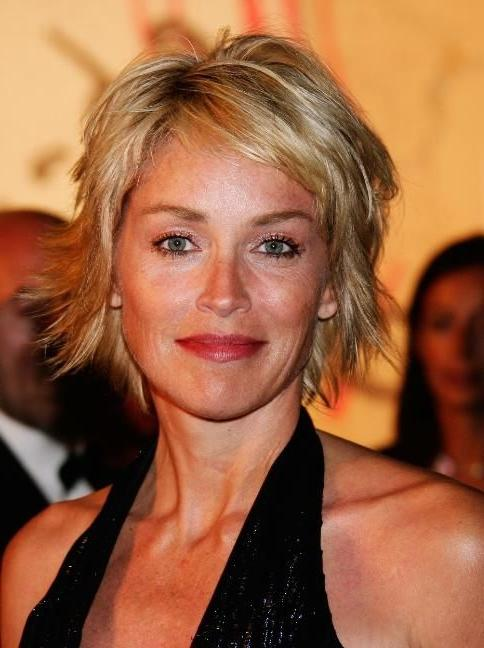 Photos Of Sharon Stone Hairstyles