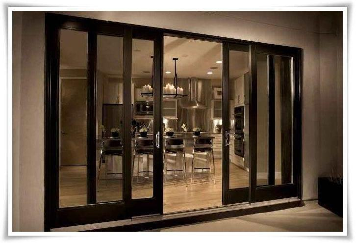 The Arcadia Sliding Door Presents With One Fixed Panel While