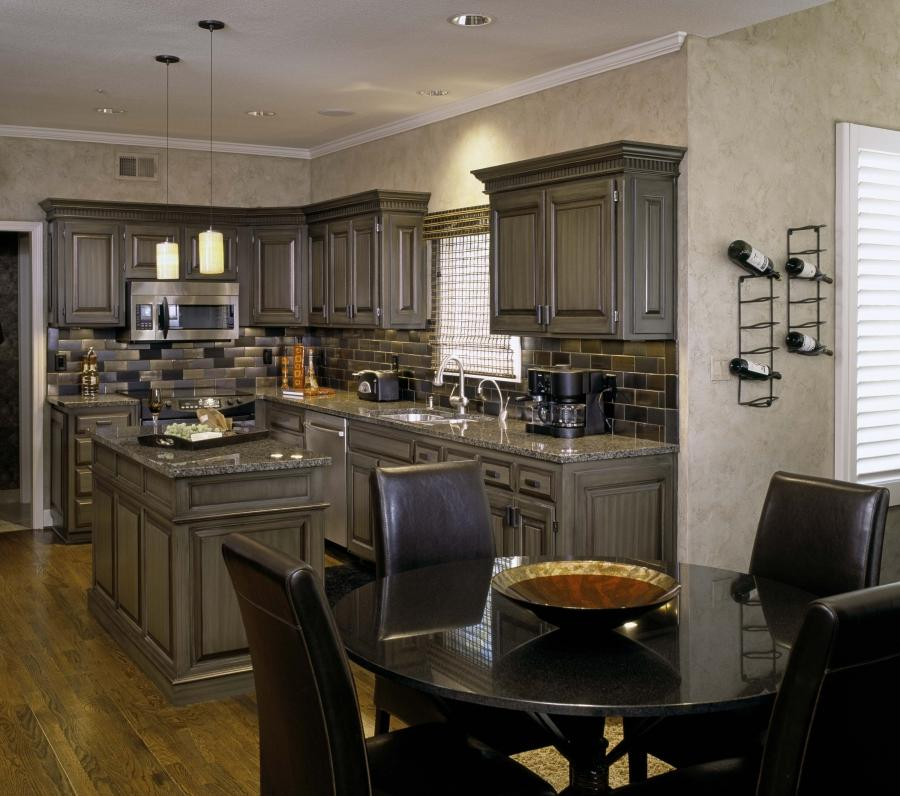 Updating Oak Kitchen Cabinets: Pickled Cabinets Photos
