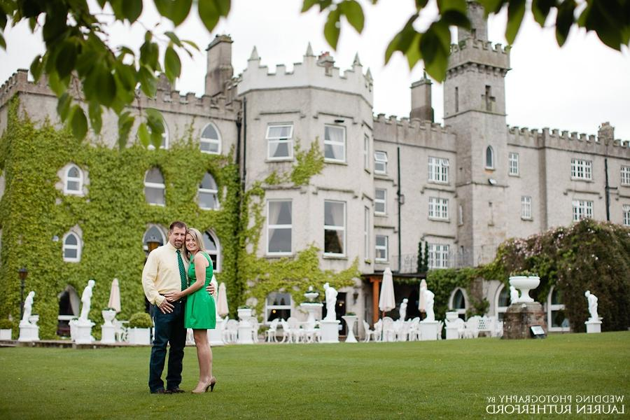 Wedding anniversary photoshoot at Cabra Castle