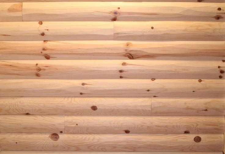 Rough hewn siding photo for 2x6 log siding