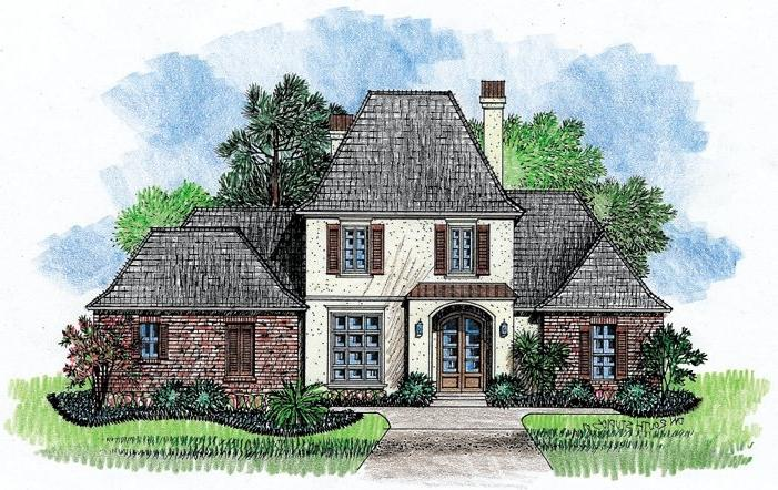 Louisiana house plans photos for French country house plans louisiana