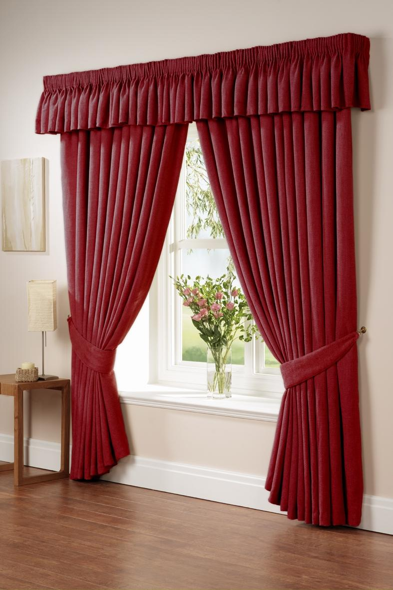 ... Living Room Curtain Ideas Decorations Interior Delightful Red...