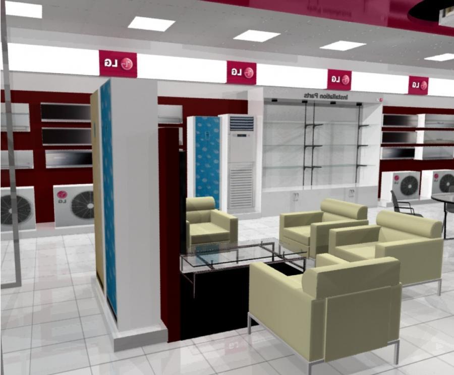 Showroom interior design photos for Interior designs chennai