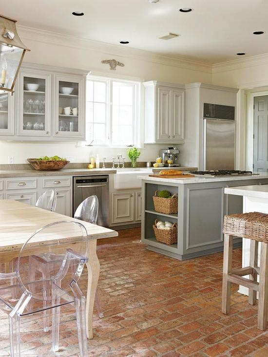 Brick Flooring Kitchen Flooring Ideas