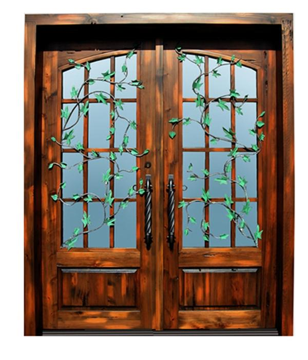 French Doors - 14th Cen Belgium French Pane Doors - 3452WI