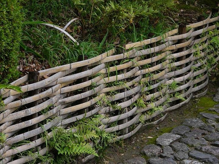Homemade Bamboo Fence Photos