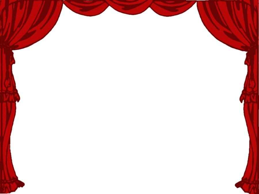 Stage Curtains Png Clipart by clipartcotttage