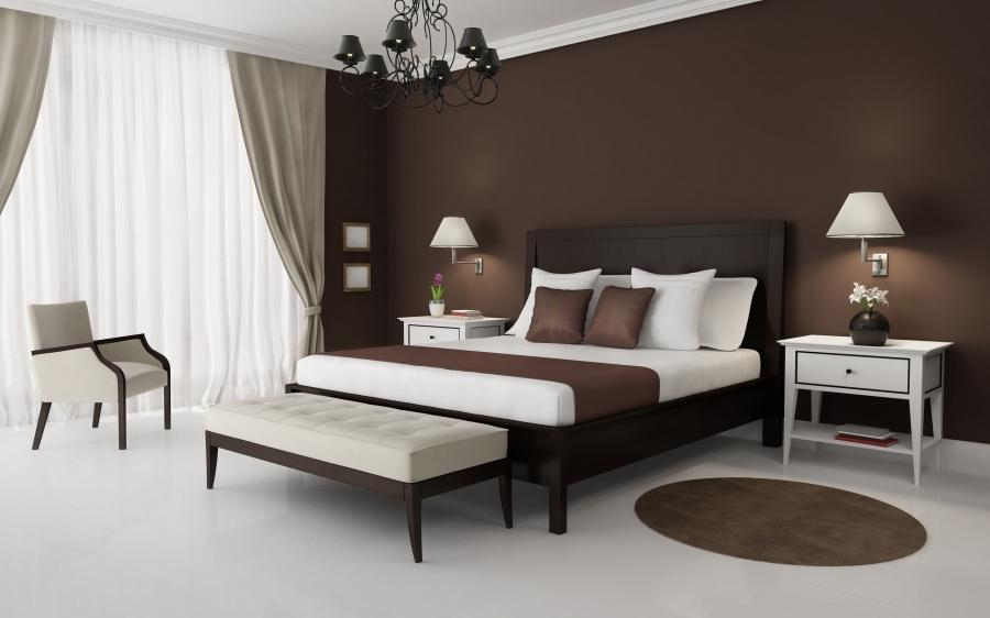 ... brown luxury bedrooms wallpaper ...