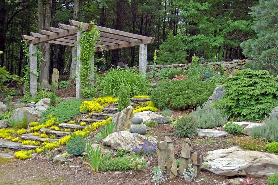 indoor rock garden ideas