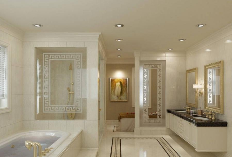 Master bedroom and bathroom photos for Elegant master bathroom designs