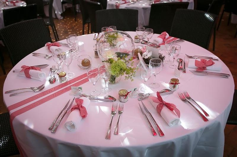 Decoration de table de mariage photo - Deco table guinguette ...