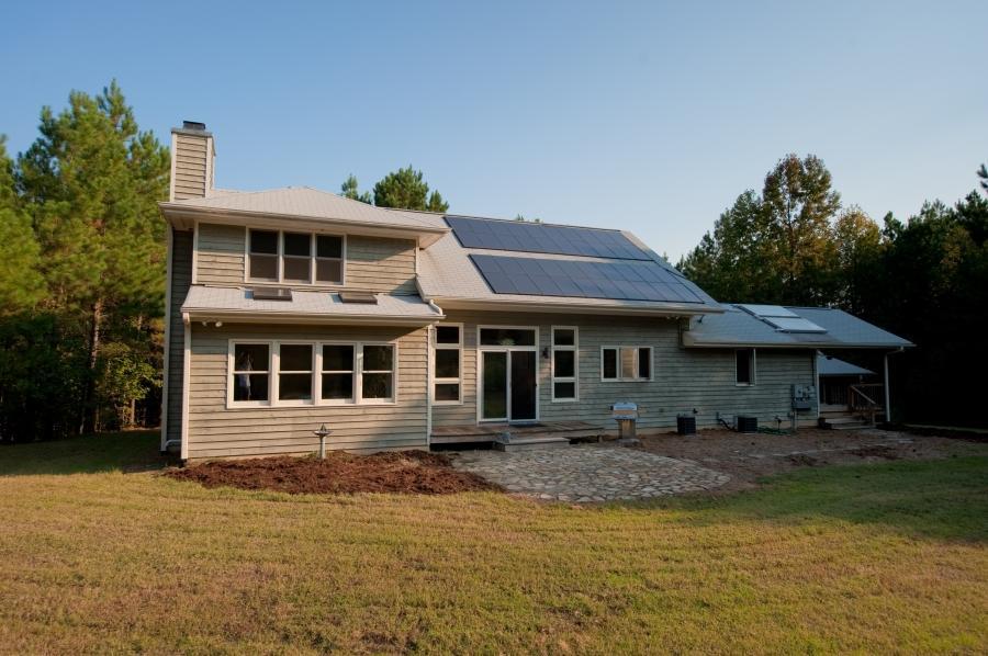 Solar House Photo