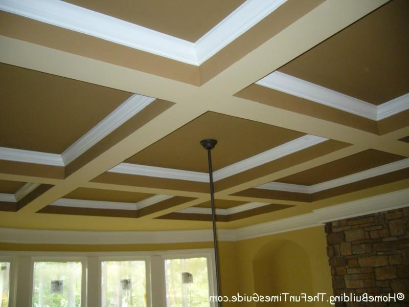 Here are some pictures of the coffered ceilings that I have come...