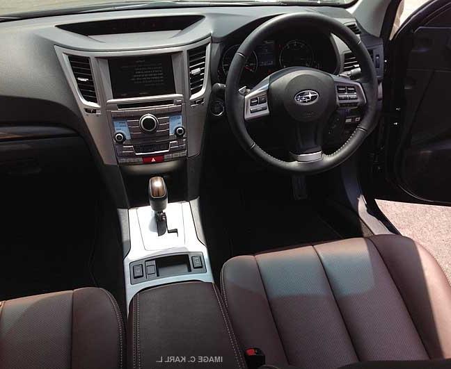 Outback interior photos for Subaru outback leather interior