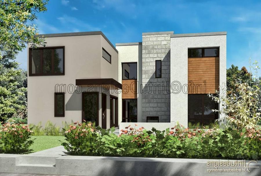 Contemporary house exterior photos for Modern house definition