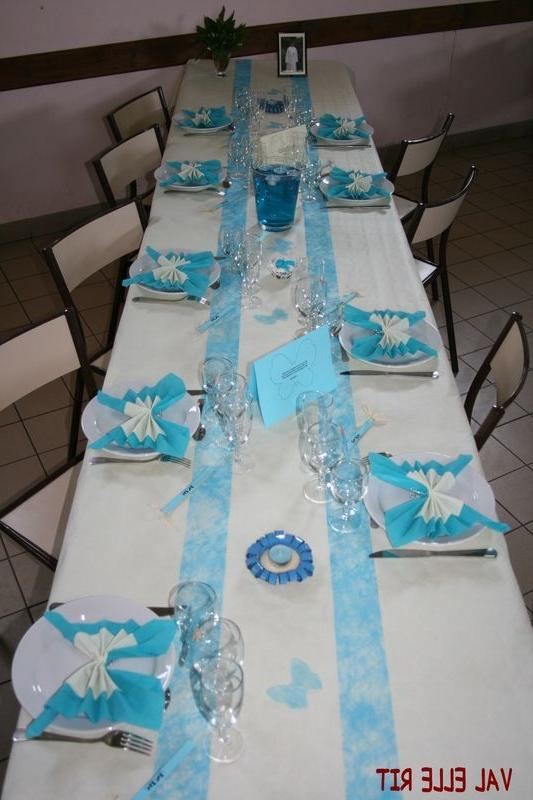 Exemples et modeles deco de table communion, deco sur le theme...