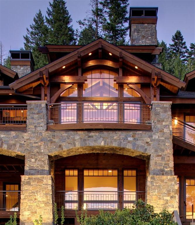 Exterior: Lakefront House Plans With Photos
