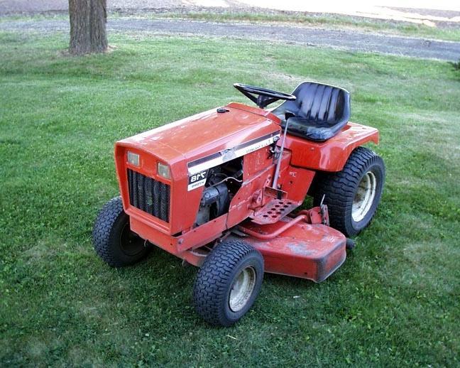 older allis chalmers lawn garden tractor photos. Black Bedroom Furniture Sets. Home Design Ideas