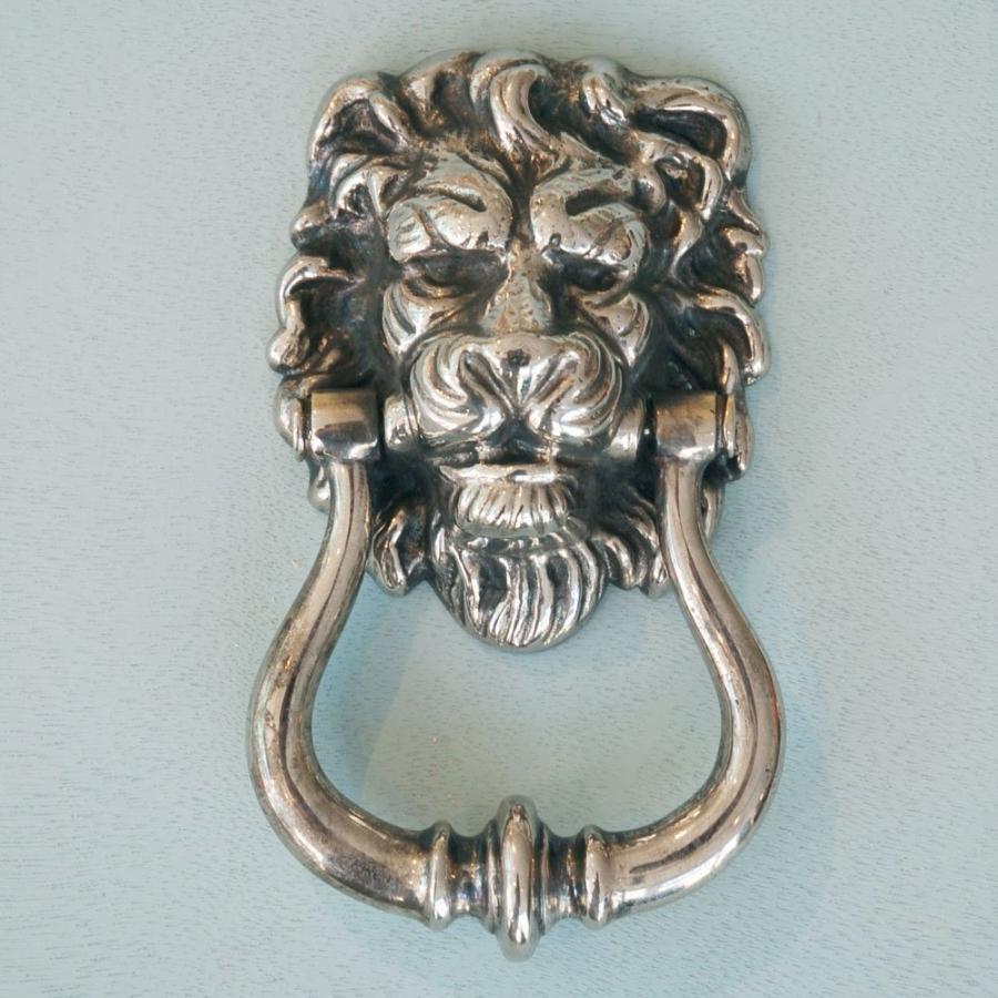 Photos of door knockers - Lion head brass door knocker ...