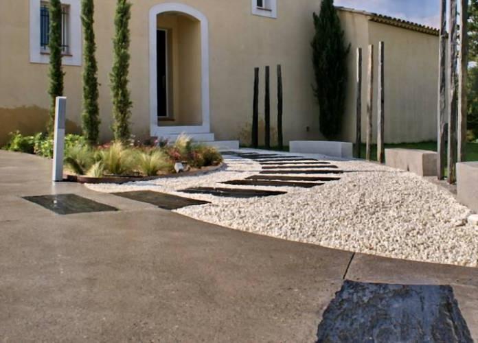 Photo decoration exterieur maison